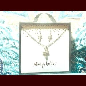 New in box necklace & earrings set . Perfect gift!